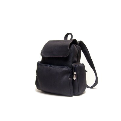 Distressed Leather Women's Multi Pocket Backpack