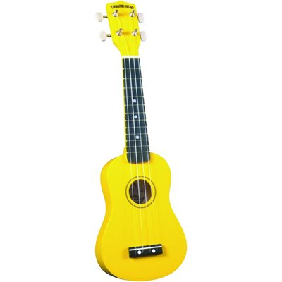 Diamond Head Soprano Ukulele with Yellow Match Case
