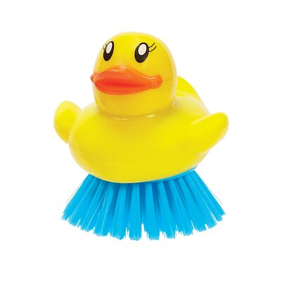 Boston Warehouse Trading Corp Ducky Bristle Scrub Brush