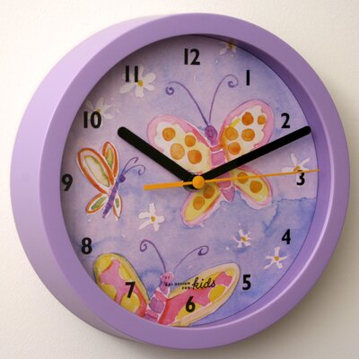 "Bai Design 8"" Children Wall Clock"