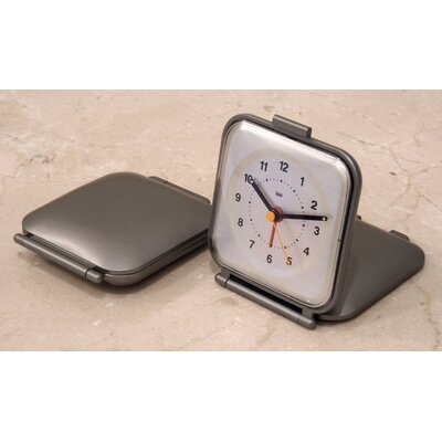 Bai Design Square Folded Travel Alarm Clock