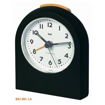 Bai Design Pick-Me-Up Alarm Clock in Black