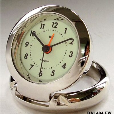 Bai Design Diecast Travel Alarm Clock