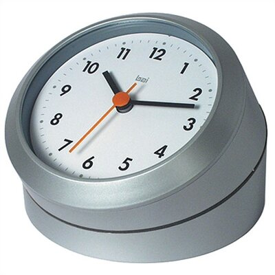 Twister Convertible Modern Wall and Desk Clock