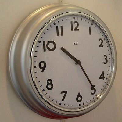 Bai Design School Wall Clock