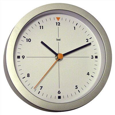 "Bai Design 6"" Studio Modern Wall Clock"