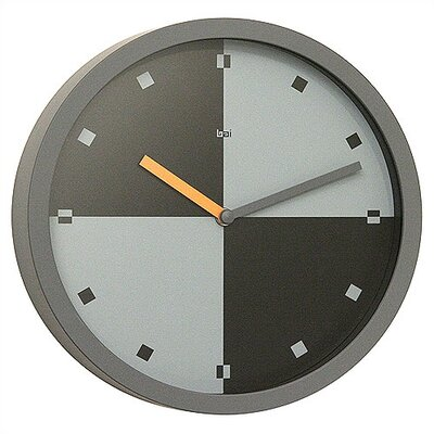 "Bai Design 10"" Quadro Modern Wall Clock"