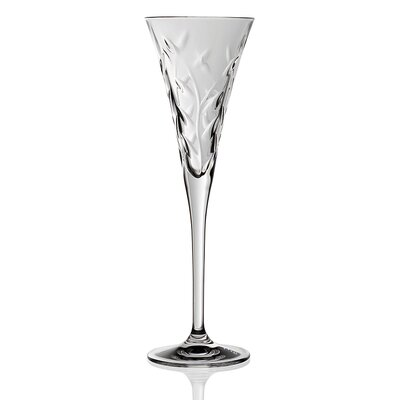 Lorren Home Trends RCR Laurus Crystal Champagne Glass