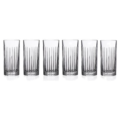 Lorren Home Trends RCR Timeless High Ball Glass (Set of 6)