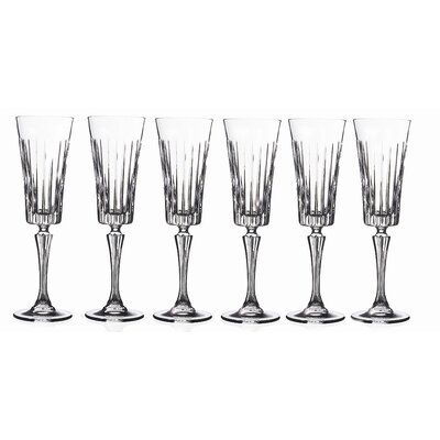 Lorren Home Trends RCR Timeless Champagne Glass (Set of 6)