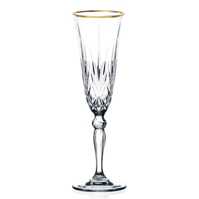 Siena Crystal Flute Glass (Set of 4)