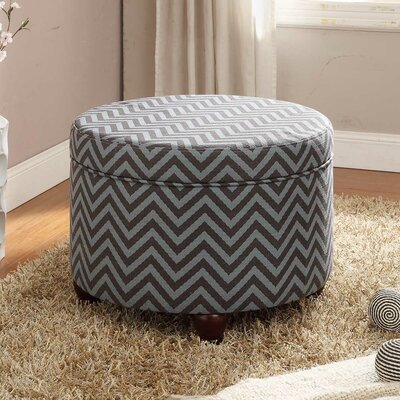 Kinfine Fashion Round Storage Ottoman