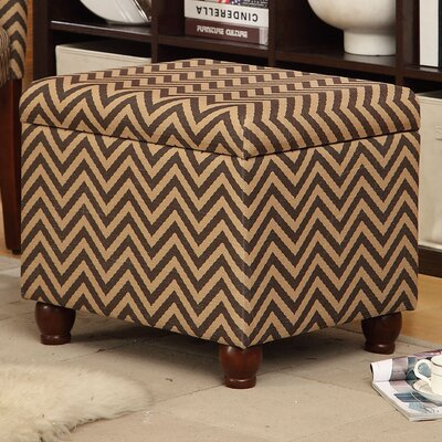 Hinged Fabric Ottoman | Wayfair