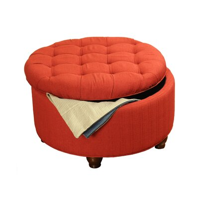 Kinfine Tufted Round Cocktail Ottoman