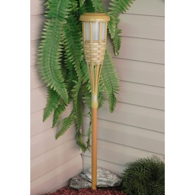 Paradise Garden Lighting Plastic Solar Tiki Torch Light
