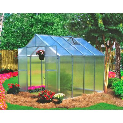Riverstone Industries Monticello 8 x 8 ft. Premium Polycarbonate Commercial Greenhouse