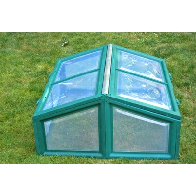 Riverstone Industries Genesis Polycarbonate Cold Frame Greenhouse