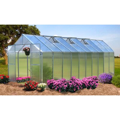 Riverstone Industries Monticello Quick Assembly Greenhouse