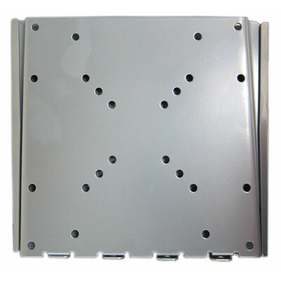 "Arrowmounts Fixed Wall Mount in Silver for 10-36"" Flat Panel TVs"