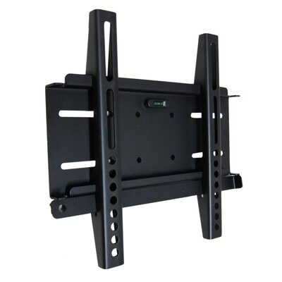 Universal Flat Wall Mount in Black for 23-32
