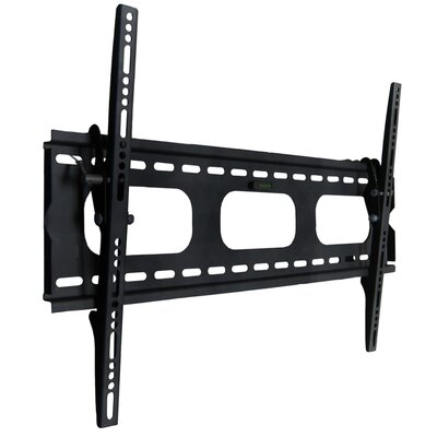 Tilting Wall Mount in Black for 32-52
