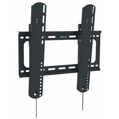 Ultra-Slim Tilting Wall Mount in Black for 27 to 42