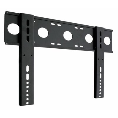 Ultra-Slim Fixed Wall Mount in Black for 23 to 37