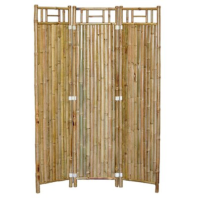 3 Panel Bamboo Screen