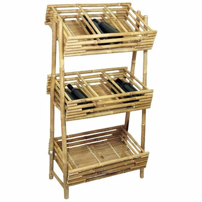 <strong>Bamboo54</strong> Knock Down 36 Bottle Wine Rack