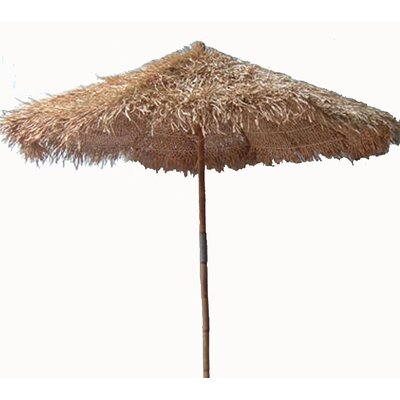 Bamboo54 9' Thatched Bamboo Market Umbrella