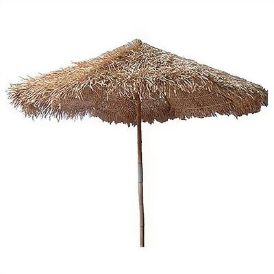 Bamboo54 7' Thatched Bamboo Market Umbrella