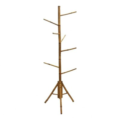 <strong>Bamboo54</strong> Natural Bamboo Coat Rack