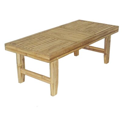 Bamboo54 folding coffee table reviews wayfair Folding coffee table