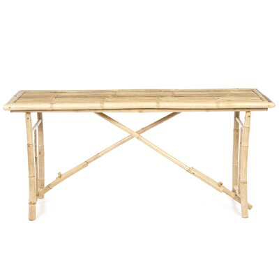 Long Bamboo Dining Table