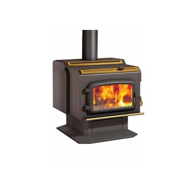 HT2000 2,400 Square Foot Wood Stove on Pedestal
