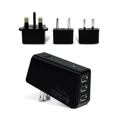 iLuv Triple USB AC Adapter