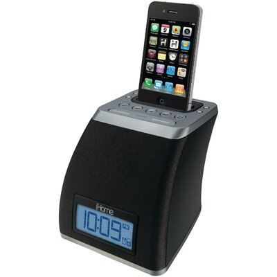iHome Space Saver Alarm Clock
