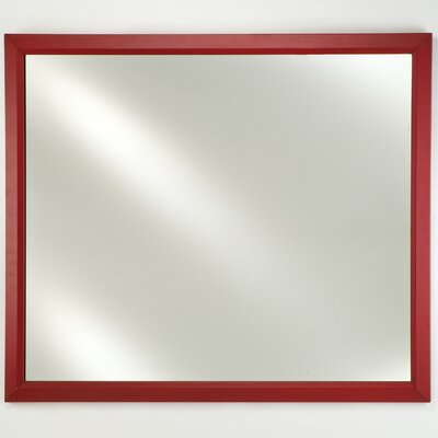 Afina Signature Recessed Mount Plain Wall Mirror