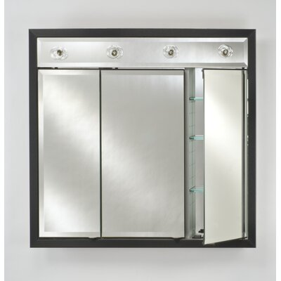 Afina Signature Triple Door Medicine Cabinet with Lights