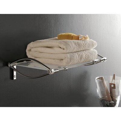 Toscanaluce by Nameeks Towel Rack with Chrome Mounting