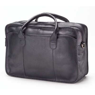 Clava Leather Vachetta Classic Legal Leather Laptop Briefcase