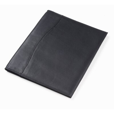 Vachetta Slim Full Size Padfolio in Black