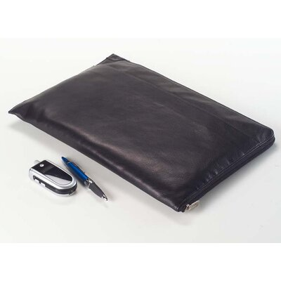 Clava Leather Tuscan Under the Arm Folder Holder in Black