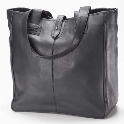 Clava Leather Bridle Oversized Tote Bag