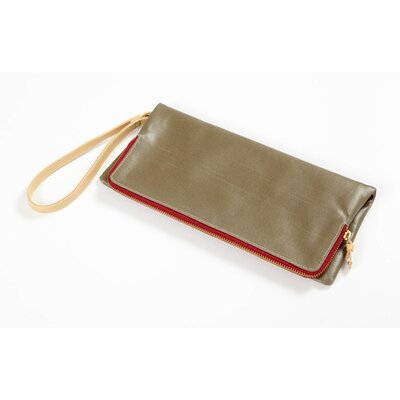 Clava Leather Carina Foldover Wristlet