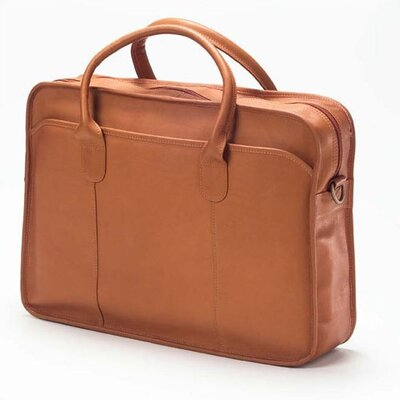 Vachetta Classic Top Handle Briefcase in Tan