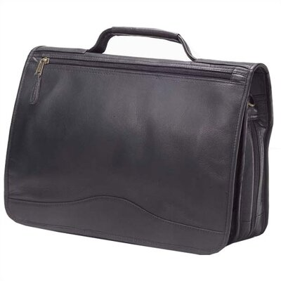 Clava Leather Vachetta Leather Laptop Briefcase