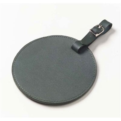 Clava Leather Color Circle Luggage Tag