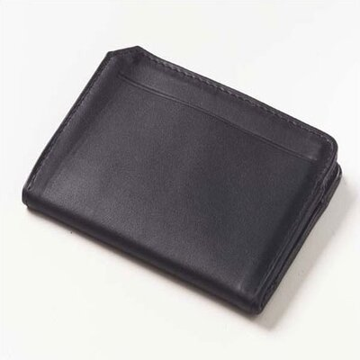 Quinley Front ID Card Wallet in Black