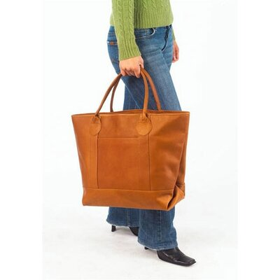 Clava Leather Vachetta Nantucket Tote